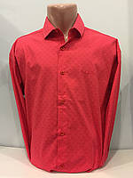 Рубашка мужская в мелкий рисунок 2XL