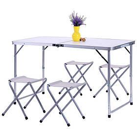 Комплект Барбекю (стол+4 табурета) CTA1003 (AMF-ТМ)