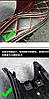 Стильные чехлы на мото сиденье, фото 6