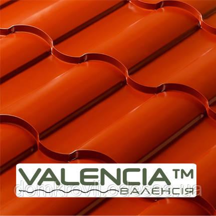 Металлочерепица Valencia глянец 0,43 мм PE OPTIMA STEEL™