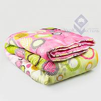 Одеяло шерсть-ткань 1.5