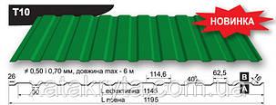 Профнастил Прушински  Т 10, PURMAT 0.5 мм, фото 2