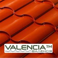 Металлочерепица Valencia мат 0,45 мм PEMA Польша, фото 1