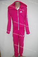 """Детский спортивный костюм """"Adidas"""" на девочку розовый"""