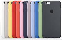 Силиконовый чехол для iPhone 6 6S 4.7 прорезиненный оригинальный + ЛОГО