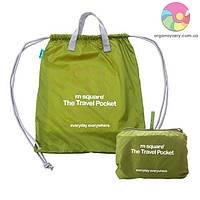 Портативная водонепроницаемая сумка-рюкзак (салатовый)