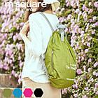 Портативна водонепроникна сумка-рюкзак (салатовий), фото 2