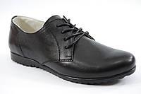 Подростковые, детские классические кожаные туфли