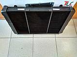 Радиатор охлаждения медный ГАЗ 3110 - 31105 (3-х рядный), фото 3