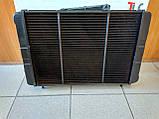 Радиатор охлаждения медный ГАЗ 3110 - 31105 (3-х рядный), фото 4