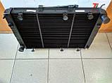 Радиатор охлаждения медный ГАЗ 3110 - 31105 (3-х рядный), фото 2
