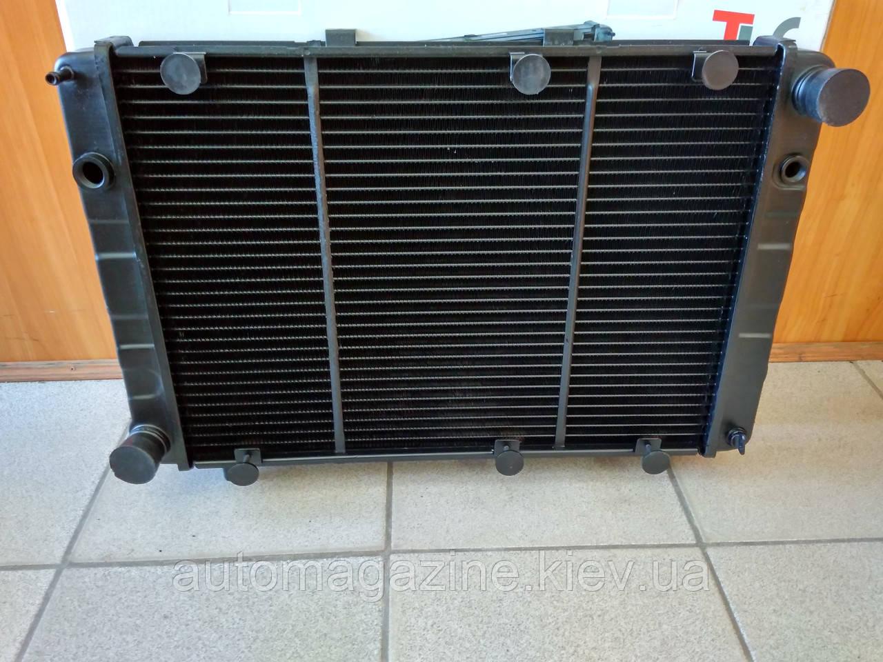 Радиатор охлаждения медный ГАЗ 3110 - 31105 (3-х рядный)