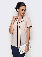 Жіноча молодіжна бежева блузка Bonita
