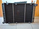 Радиатор охлаждения медный ГАЗ 3110 - 31105 (3-х рядный), фото 5
