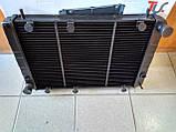 Радиатор охлаждения медный ГАЗ 3110 - 31105 (3-х рядный), фото 6