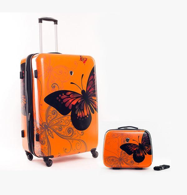 комплект чемодан и кейс саквояж
