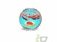 Яйцерезка - салаторезка круглая металл