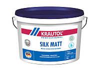 Краска интерьерная латексная KRAUTOL SILK MATT B1, 10 л