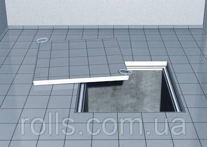Люк невидимка из оцинковки с высотой крышки 110мм ACO Access Сovers