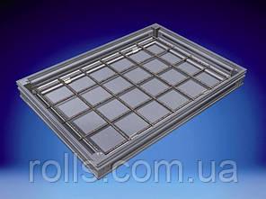 Ревизионный напольный люк из нержавеющей стали Aco Access Cover с высотой крышки 70мм C250 - 25т, 300х300