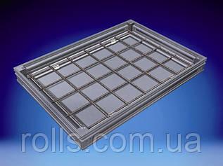 Ревизионный напольный люк из нержавеющей стали Aco Access Cover с высотой крышки 70мм А15, L15 - 1,5т, 635*635