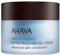 Активный увлажняющий крем-гель для сухой кожи лица Ahava Time to Hydrate 50 мл