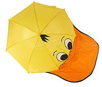 Яркий детский механический зонтик зверушка mr. FROGS art. 4304 уточка  (100145)