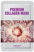 Коллагеновая маска разглаживает морщины и подтягивает кожу Премиум-класса Shangpree 20мл по 10шт