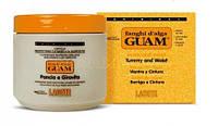 Грязевая маска Guam (Гуам) 500 гр из морских водорослей для живота и талии Fanghi d'Alga Pancia e Girovita