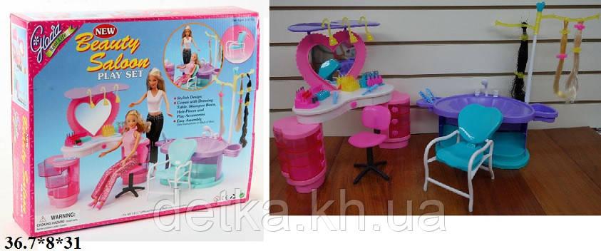 Мебель для кукол парикмахерская Gloria 2509