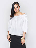 Жіноча літня біла блузка Rene