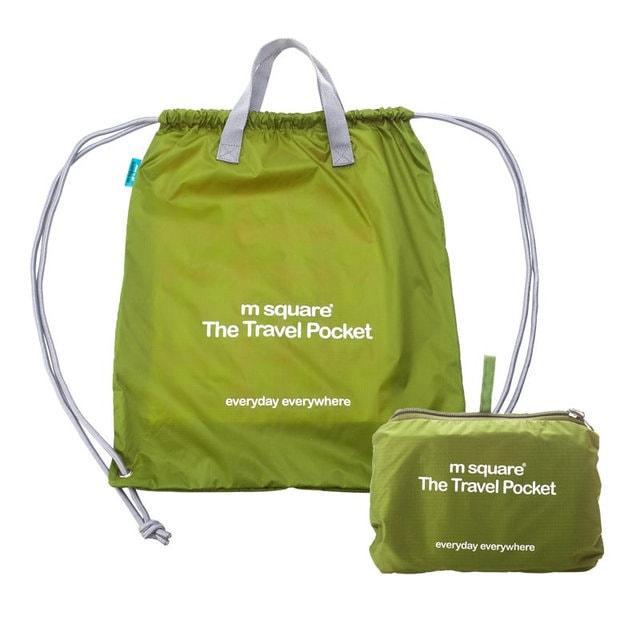 Салатова сумка-рюкзак