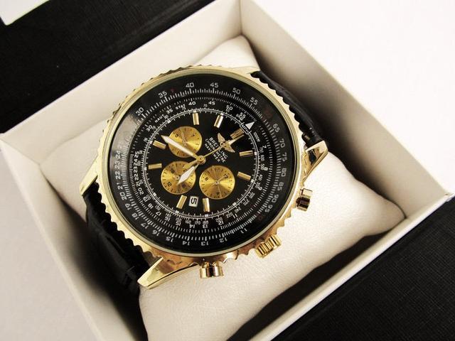 Мужские часы Брейтлин золотой корпус
