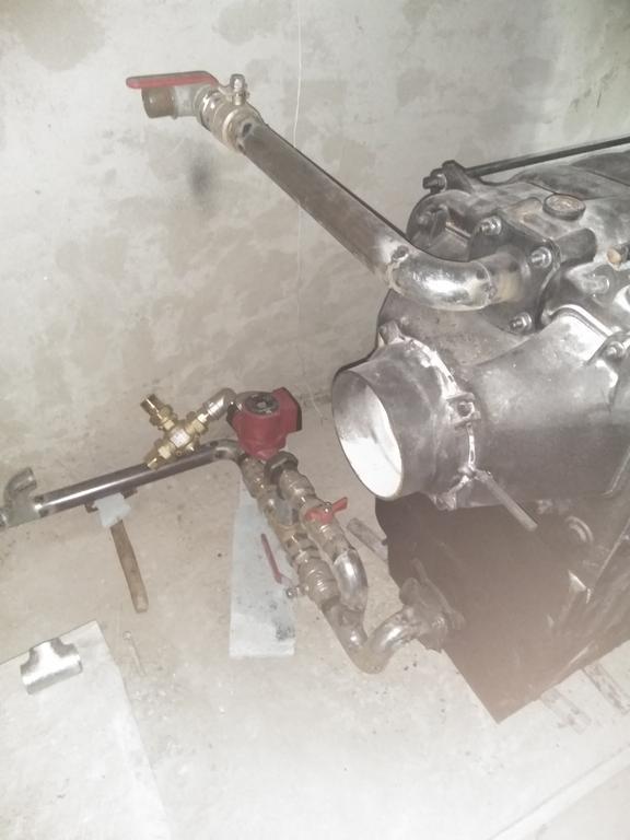 Топочная (с распределением тепла через 4-х ходовый клапан Afriso VRB141) 6