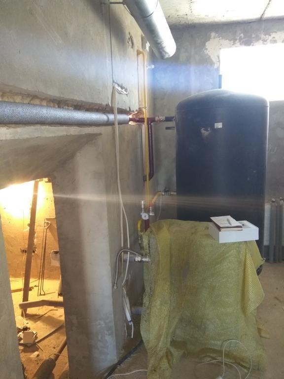 Топочная (с распределением тепла через 4-х ходовый клапан Afriso VRB141) 4