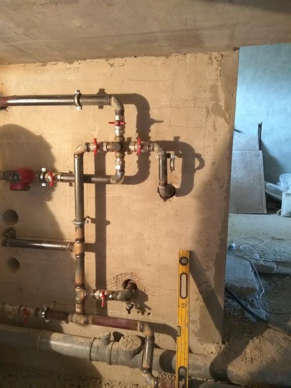 Топочная (с распределением тепла через 4-х ходовый клапан Afriso VRB141) 3