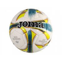 Мяч DALI GREEN 400083 бело-зелено-синий, размер 5