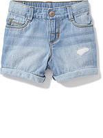 Детские джинсовые шорты бойфренды Old Navy для девочки