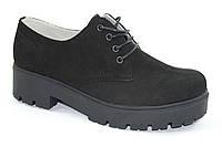 Женские короткие демисезонные ботинки, туфли на высокой подошве