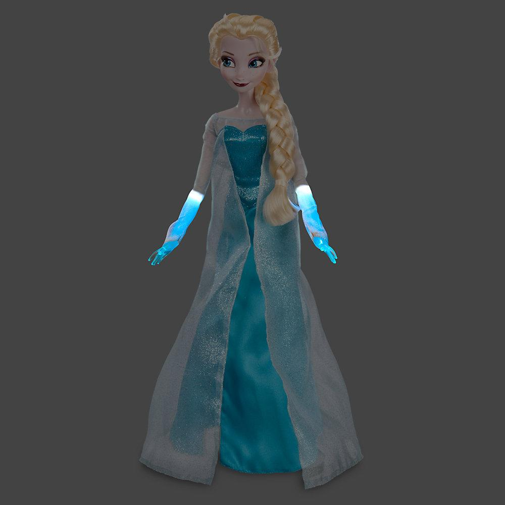 Интерактивная Эльза (звуковые, световые эффекты), 40 СМ - Elsa, Singing & Light Up Doll, Disney, Frozen