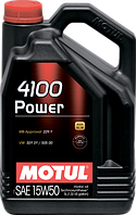 MOTUL 4100 Power SAE 15W50 (5L)