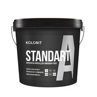 Латексная фасадная краска Kolorit Standart A (Fasade Standart)