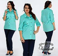 Женская Стильная Рубашка (KL028/Mint)