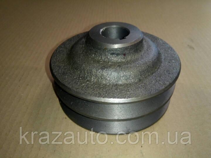 Шкив привода вентилятора ЯМЗ 2-х ручейный (пр-во Украина) 236-1308025