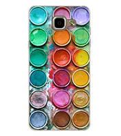 Чехол бампер с принтом для Samsung A320 Galaxy A3-2017 Краски, фото 1