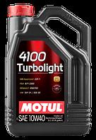MOTUL 4100 Turbolight SAE 10W40 (5L)