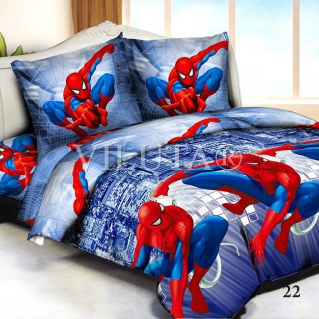 Человек-паук Покрывало стеганное Viluta 210x140
