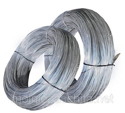Дріт сталевий оцинкований термічно оброблений 2,5 мм