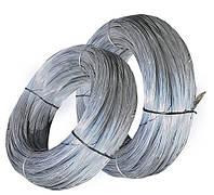 Дріт сталевий оцинкований термічно необроблений