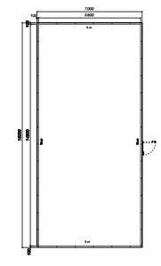 Холодильная камера ТЕРМ СТФ 100-1142 2х0,5С
